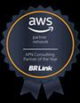 AWS reconhece a BRLink como parceiro do Ano