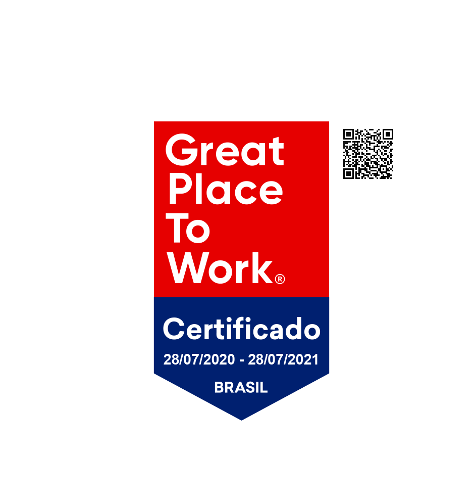 Great Place To Work - Certificado 28/07/2020 - 28/07/2021 - Brasilk