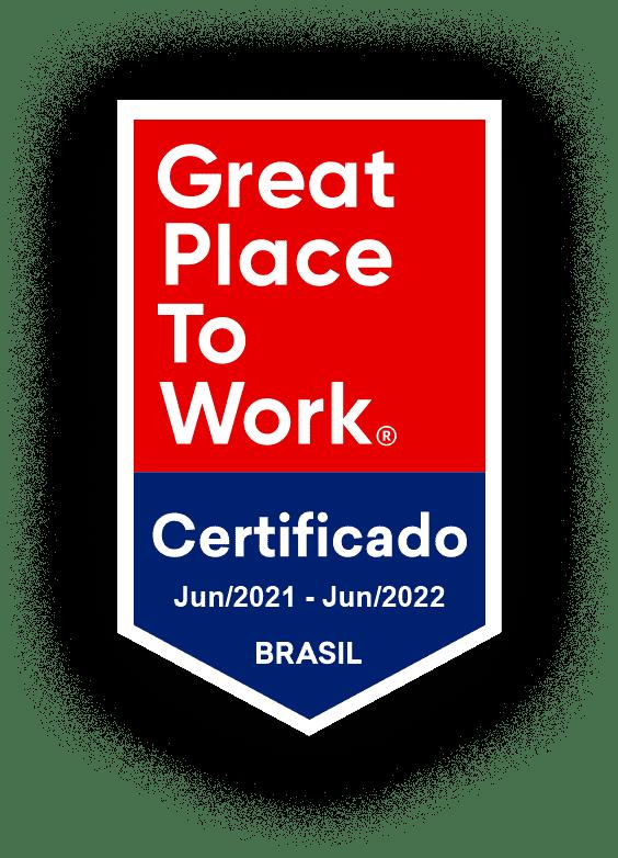 Great Place To Work - Certificado 28/07/2020 - 28/07/2021 - Brasilk