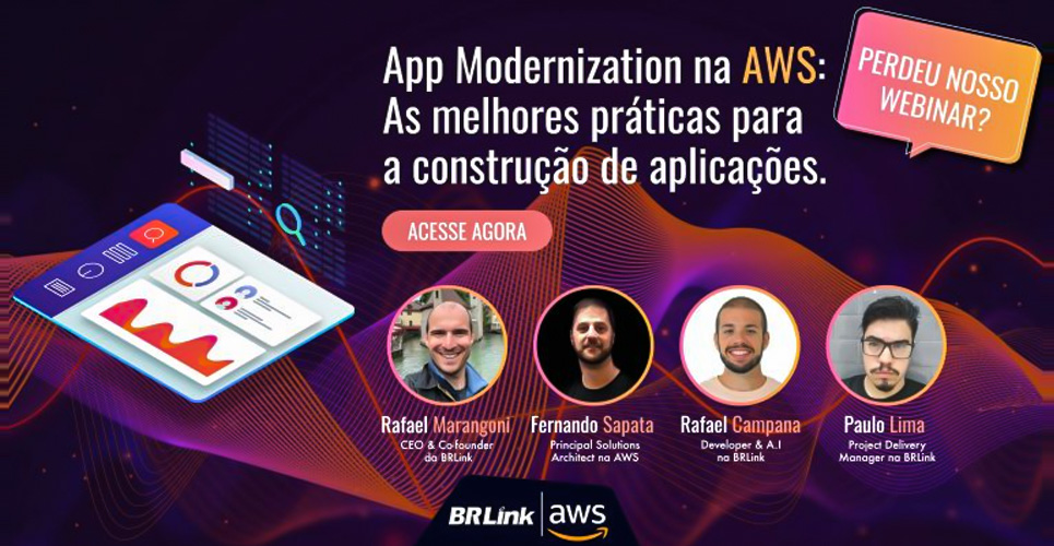 Acesso ao Webinar – App Modernization na AWS