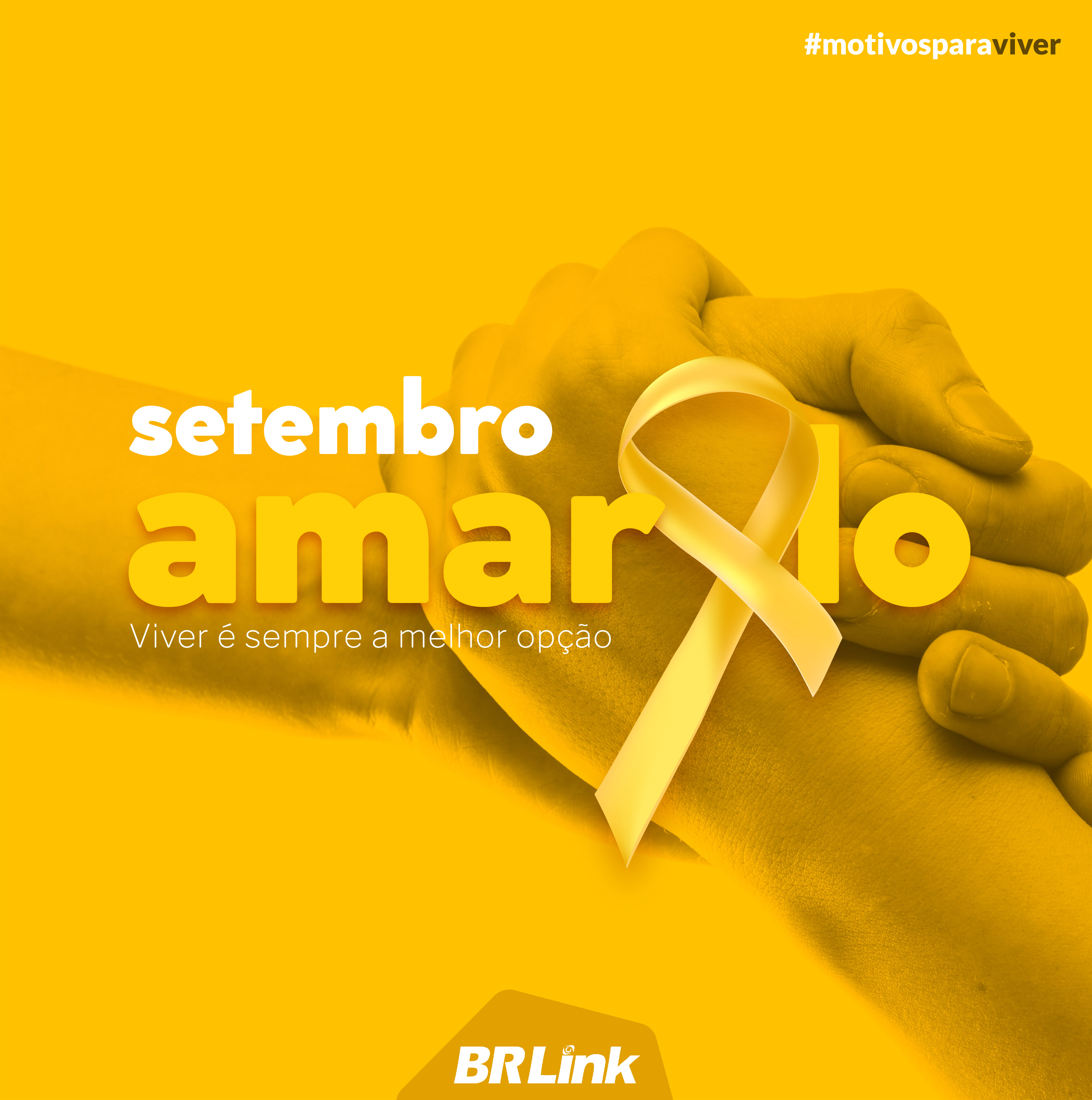 A campanha Setembro Amarelo salva vidas!