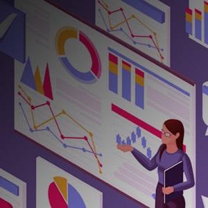 Transforme dados em insights de negócios